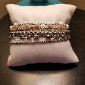 David Yurman Multi strand Bracelet